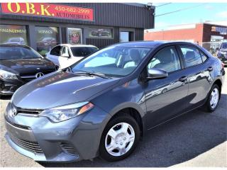 Used 2016 Toyota Corolla LE-AUTOM-CAM RECUL-SIEGES CHAUFFANTS-BLUETOOTH for sale in Laval, QC