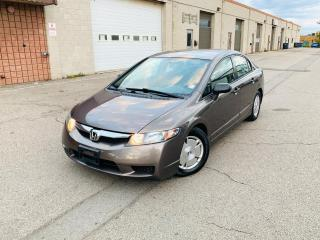 Used 2009 Honda Civic Sdn DX-G | 1 OWNER | LOW KMS | CERTIFIED for sale in Burlington, ON