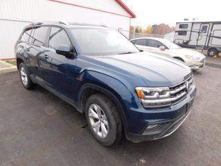 Used 2019 Volkswagen Atlas Comfortline for sale in Listowel, ON