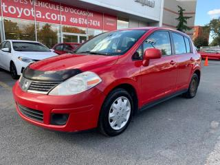 Used 2007 Nissan Versa for sale in Longueuil, QC