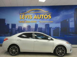Used 2014 Toyota Corolla S 98900 KM TOIT OUVRANT CAMERA DE RECUL for sale in Lévis, QC