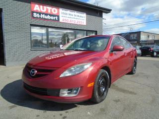Used 2010 Mazda MAZDA6 GS **FREINS NEUFS AUX ROUE ** for sale in St-Hubert, QC