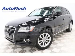 Used 2016 Audi Q5 2.0T Progressiv-Plus *GPS/Camera *Toit-Pano-Roof for sale in St-Hubert, QC
