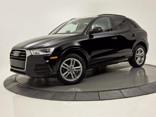 Used 2017 Audi Q3 QUATTRO 2.0T Komfort TOIT PANORAMIQUE for sale in Brossard, QC