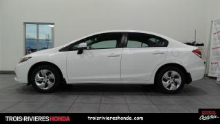 Used 2015 Honda Civic LX + BAS KILO + EXTRA PROPRE ! for sale in Trois-Rivières, QC