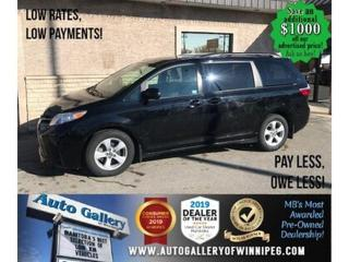 Used 2020 Toyota Sienna LE* 8-pass/B.tooth/B.cam for sale in Winnipeg, MB