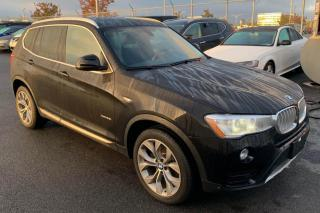 Used 2016 BMW X3 AWD CUIR TOIT PANO NAV MAGS for sale in St-Hubert, QC