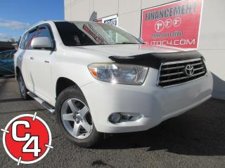 Used 2008 Toyota Highlander LIMITED AWD  V6 CUIR TOIT GPS  MAGS 7 PASS for sale in St-Jérôme, QC