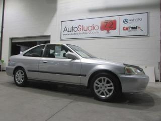 Used 1999 Honda Civic SI COUPE **AUTOMATIQUE**CUIR**TOIT** for sale in Mirabel, QC