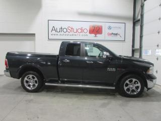 Used 2015 RAM 1500 Laramie Ecodiesel **4X4**NAVI**CUIR**MAG for sale in Mirabel, QC
