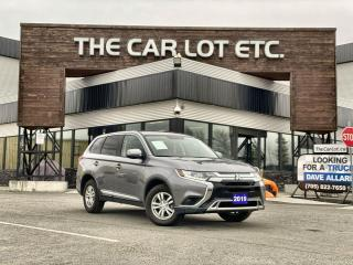 Used 2019 Mitsubishi Outlander ES -PREVIOUS DAILY RENTAL- 4x4, Heated Seats, Bluetooth, ECO-Mode!! for sale in Sudbury, ON