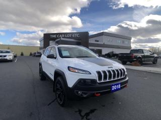 Used 2018 Jeep Cherokee Trailhawk AWD LEATHER for sale in Sudbury, ON