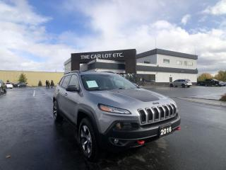 Used 2016 Jeep Cherokee Trailhawk AWD for sale in Sudbury, ON