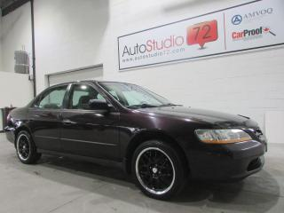 Used 1998 Honda Accord **MANUELLE**MAGS**A/C** for sale in Mirabel, QC