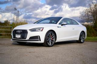 Used 2018 Audi S5 3.0T Technik *DIGITAL DASH* *SPORT DIFFERENTIAL* *PARK ASSIST FRONT AND REAR* *NAVIGATION* *LEATHER* for sale in Surrey, BC