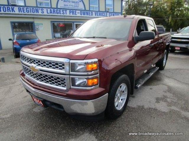 2014 Chevrolet Silverado 1500 GREAT KM'S 2-LT MODEL 6 PASSENGER 4.3L - V6.. 4X4.. QUAD-CAB.. SHORTY.. TOW SUPPORT.. CD/AUX/USB INPUT.. KEYLESS ENTRY..