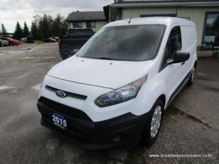 Used 2015 Ford Transit Connect CARGO MOVING XL EDITION 2 PASSENGER 2.5L - DOHC.. MIDDLE DIVIDER.. IN-CARGO SHELVING.. AUX INPUT.. BACK-UP CAMERA.. AIR CONDITIONING.. for sale in Bradford, ON