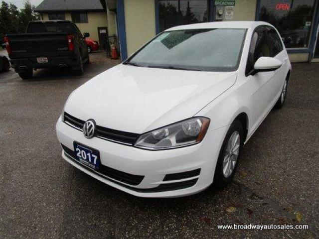 2017 Volkswagen Golf WELL EQUIPPED TSI - HATCH MODEL 5 PASSENGER 1.8L - DOHC.. HEATED SEATS.. TOUCH SCREEN DISPLAY.. KEYLESS ENTRY.. BACK-UP CAMERA..