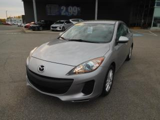 Used 2012 Mazda MAZDA3 GS-SKY,A/C,BLUETOOTH,CRUISE,BANCS CHAUFF, VITRES for sale in Mirabel, QC