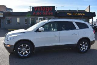 Used 2010 Buick Enclave CXL LEATHER SEATS! SUNROOF! BACK UP CAMERA! for sale in Saskatoon, SK