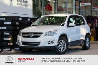 Used 2010 Volkswagen Tiguan Trendline for sale in Lachine, QC