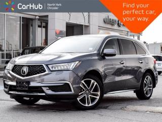 Used 2017 Acura MDX SH-AWD Sunroof Navigation DVD Player & Screen for sale in Thornhill, ON