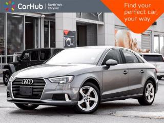 Used 2019 Audi A3 Sedan KOMFORT for sale in Thornhill, ON