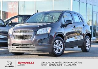 Used 2014 Chevrolet Trax LS FWD AUTO BLUETOOTH 8 PNEUS AUTO AC GROUPE ELECTRIQUE BLUETOOTH++ for sale in Lachine, QC