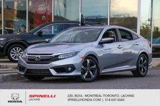 Used 2017 Honda Civic Touring DEAL PENDING TRES BAS KM NAVI CUIR TOIT*CUIR*NAVI*MAGS*BLUETOOTH*CRUISE*SIEGES CHAUFFANTS*++ for sale in Lachine, QC