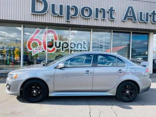 Used 2017 Mitsubishi Lancer ES TA berline 4 portes CVT for sale in Alma, QC