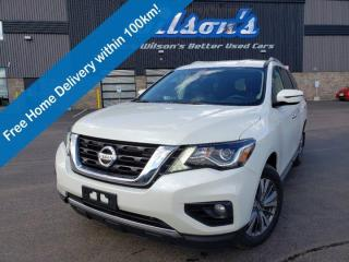 Used 2019 Nissan Pathfinder SV Tech 4WD, Navigation, Remote Start, Heated Steering, Blindspot Alert and more! for sale in Guelph, ON