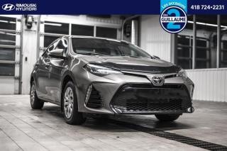 Used 2017 Toyota Corolla LE chez Rimouski Hyundai for sale in Rimouski, QC