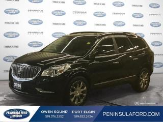 Used 2016 Buick Enclave Premium - Leather Seats -  Cooled Seats - $182 B/W for sale in Port Elgin, ON