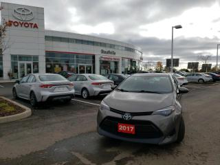 Used 2017 Toyota Corolla LE UPGRADE - WINTER TIRES ON RIMS - HEATED STEERING WHEEL for sale in Stouffville, ON