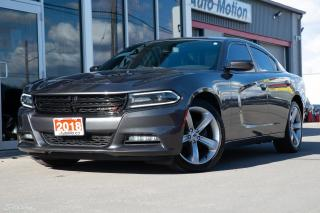 Used 2018 Dodge Charger SXT Plus 2 TONE LEATHER SUNROOF BLIND SPOT ALPINE SOUND for sale in Chatham, ON