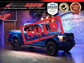 Used 2018 Ford F-150 FX4 Custom 5.0L - Just $42,800 Financed! for sale in Winnipeg, MB