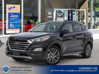 New 2021 Hyundai Tucson Luxury for sale in Huntsville, ON