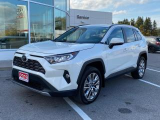 Used 2019 Toyota RAV4 Limited LIMITED-ONE OWNER BOUGHT+SERVICED HERE! for sale in Cobourg, ON