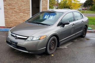 Used 2007 Honda Civic DX-G for sale in Oshawa, ON