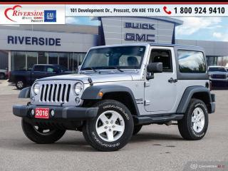 Used 2016 Jeep Wrangler SPORT for sale in Prescott, ON