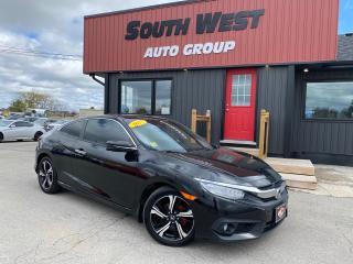 Used 2017 Honda Civic NAVI|LaneAssist|CrashDetection|Sunroof|BackUp|Lthr for sale in London, ON