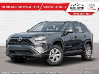 New 2021 Toyota RAV4 LE AWD for sale in High River, AB
