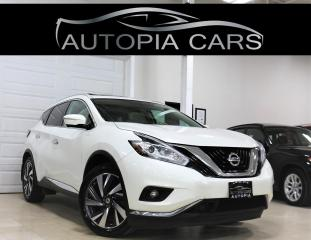 Used 2015 Nissan Murano AWD PLATINUM BLIND SPOT NAVI 360 CAMERA PANORAMIC for sale in North York, ON
