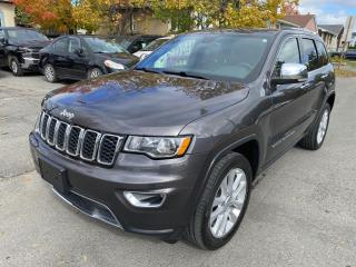 Used 2017 Jeep Grand Cherokee 4WD 4Dr Limited for sale in Ottawa, ON