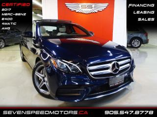 Used 2017 Mercedes-Benz E-Class E400 4MATIC AMG | MERC-BENZ WARRANTY | FINANCE @ 4.65% for sale in Oakville, ON