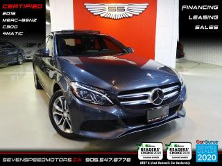 Used 2016 Mercedes-Benz C-Class CLEAN CARFAX | NAVI | CERTIFIED | FINANCE | 9055478778 for sale in Oakville, ON