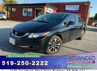 Used 2014 Honda Civic EX for sale in Windsor, ON