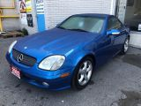 Photo of Blue 2002 Mercedes-Benz SLK