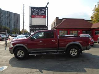 Used 2011 RAM 1500 Outdoorsman/ LOADED / CREW CAB / 4X4/ MINT SHAPE/ for sale in Scarborough, ON