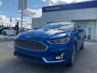 Used 2020 Ford Fusion Hybrid TITANIUM/HYBRID/LEATHER/SUNROOF/NAV/BACKUPCAM for sale in Edmonton, AB